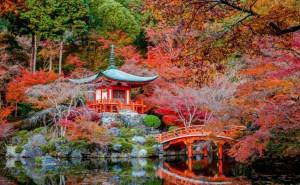 Японская беседка в классическом стиле